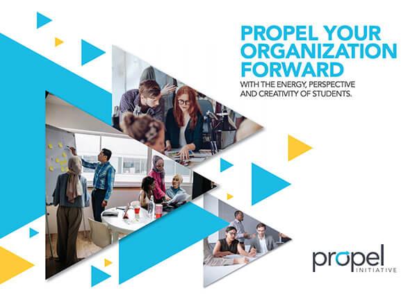 Propel Social Card: small postcard type-2