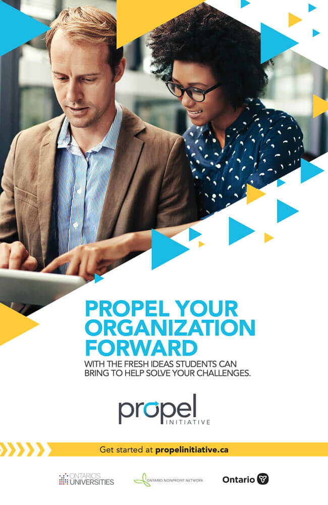 Propel Social Card: With fresh ideas - big poster
