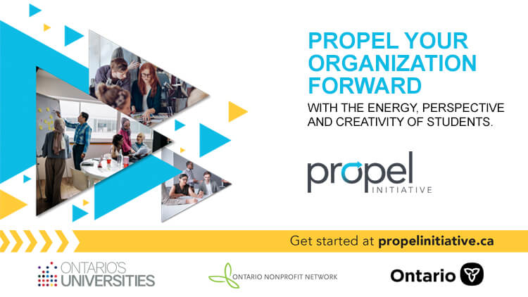 Propel Social Card: With the energy